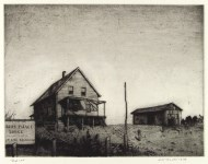 Lot #1626: ARMIN LANDECK - Sunset Palace Lodge - Drypoint