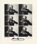 Lot #1465: OLIVIERO TOSCANI - Andy Warhol, Carnegie Hall Studio, New York City - Vintage photogravure