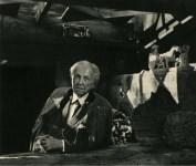 Lot #2038: YOUSUF KARSH - Frank Lloyd Wright - Original vintage photogravure