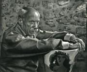 Lot #1785: YOUSUF KARSH - Pablo Picasso I - Original vintage photogravure