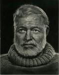 Lot #2071: YOUSUF KARSH - Ernest Hemingway - Original vintage photogravure