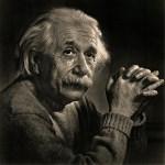 Lot #1477: YOUSUF KARSH - Albert Einstein - Original vintage photogravure