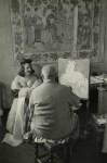 Lot #2000: HENRI CARTIER-BRESSON - Henri Matisse, Vence, France - Original vintage photogravure