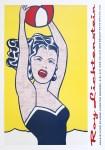 Lot #1255: ROY LICHTENSTEIN - Girl with Ball - Color silkscreen