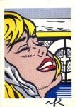 Lot #1671: ROY LICHTENSTEIN - Shipboard Girl - Color offset lithograph