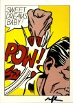 Lot #1620: ROY LICHTENSTEIN - Sweet Dreams Baby! - Color offset lithograph