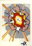 Lot #2066: ROY LICHTENSTEIN - Explosion - Color offset lithograph
