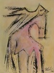 Lot #576: WIFREDO LAM - El Par - Gouache on paper