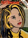Lot #1747: ROY LICHTENSTEIN - Portrait of Holly Solomon - Color offset lithograph