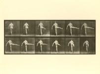 Lot #2049: EADWEARD MUYBRIDGE [d'apres] - First Dance Step - Original photogravure