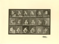 Lot #1508: EADWEARD MUYBRIDGE [d'apres] - Woman Spanking a Child - Original photogravure
