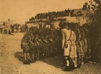 Lot #1462: EDWARD S. CURTIS - Antelopes and Snakes at Oraibi - Original sepia-toned photogravure