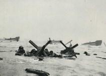 Lot #1794: ROBERT CAPA - Omaha Beach, Normandy, France: D-Day, June 6, 1944 - Original photogravure