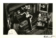 Lot #1702: HELMUT NEWTON - Roselyne at Arcangues - Original vintage photolithograph