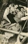 Lot #649: WEEGEE [arthur h. fellig] - Children Sleeping on a Fire Escape - Original vintage photogravure