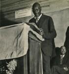 Lot #136: MARGARET BOURKE-WHITE - Sunday Sermon, College Grove, Tennessee - Original vintage photogravure