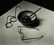 Lot #357: ANDRE KERTESZ - Mondrian's Glasses and Pipe - Original photogravure