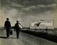Lot #322: DOROTHEA LANGE - Next Time Try the Train - Original vintage photogravure