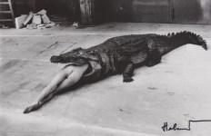 Lot #1684: HELMUT NEWTON - Scene from Pina Bausch, Dance Theater Wuppertal - Original photolithograph