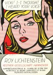 Lot #772: ROY LICHTENSTEIN - Vicki! I -- I Thought I Heard Your Voice! - Color offset lithograph
