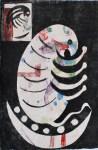Lot #618: KARIMA MUYAES - Criaturas - Color stencil monoprint