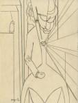 Lot #1355: ALBERTO MAGNELLI - Composizione I - Original pencil drawing
