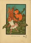 Lot #2089: W. W. DENSLOW - Don't Touch Me, She Cried - Original color lithotint
