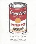 Lot #1395: ANDY WARHOL - Campbell's Soup - Pepper Pot - Original color offset lithograph