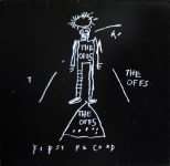 Lot #108: JEAN-MICHEL BASQUIAT - The Offs: First Record - Original offset lithograph record jacket & record