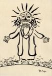 Lot #2135: KEES VAN DONGEN [imputee] - Composition - Original pen and ink drawing