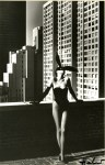 Lot #1308: HELMUT NEWTON - Elsa Peretti As a Bunny, New York #1 - Original photolithograph