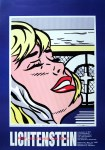 Lot #175: ROY LICHTENSTEIN - Shipboard Girl - Original color offset lithograph
