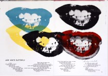 Lot #1117: ANDY WARHOL - Marilyn Monroe I Love Your Kiss Forever Forever - Color lithograph