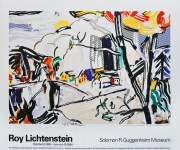 Lot #1087: ROY LICHTENSTEIN - Mountain Village - Color offset lithograph