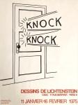 Lot #1947: ROY LICHTENSTEIN - Knock Knock - Color linoleum cut