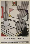 Lot #1204: ROY LICHTENSTEIN - Interior with Shadow - Color offset lithograph