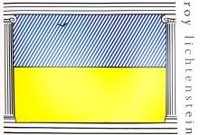 Lot #1920: ROY LICHTENSTEIN - Liberte - Color offset lithograph