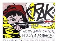 Lot #2117: ROY LICHTENSTEIN - Crak! - Original color lithograph poster