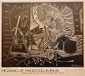 Lot #1925: PABLO PICASSO - Le Dejeuner sur l'Herbe - Color lithograph