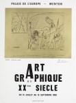 Lot #1457: PABLO PICASSO - Art Graphique du XXeme Siecle - Color letterpress and offset lithograph