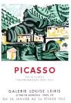 Lot #983: PABLO PICASSO - Picasso: Peintures (Vauvenargues 1959 - 1961) - Color lithograph and collotype