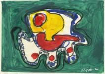 Lot #1542: KAREL APPEL [d'apres] - Untitled - Oil on paper