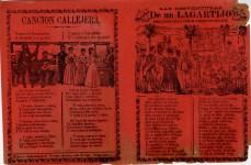 Lot #1927: JOSE GUADALUPE POSADA - Las Desventuras de un Lagartijo - Relief engraving