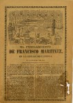 Lot #2082: JOSE GUADALUPE POSADA - El Fusilamiento de Francisco Martinez - Relief engraving