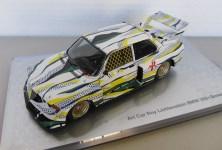Lot #683: ROY LICHTENSTEIN - BMW Le Mans Art Car - Hand painted metal diecast sculpture