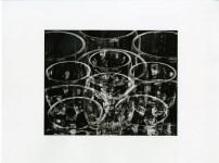 Lot #19: TINA MODOTTI - Wine Glasses - Original photogravure