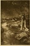 Lot #110: EDWARD S. CURTIS - The Maid of Dreams - Original vintage sepia toned photogravure