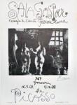 Lot #1496: PABLO PICASSO - 347 Gravures de Picasso - Original letterpress and offset lithograph