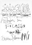 Lot #1325: PABLO PICASSO - Dibujos de Picasso - Barcelona - Original lithograph