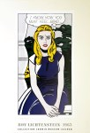Lot #1214: ROY LICHTENSTEIN - I Know How You Must Feel, Brad - Color offset lithograph